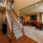 The White Oak II - 2-Story Formal Entry Hall