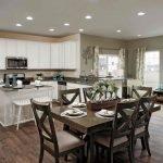 Cedar Model Home: Kitchen - Breakfast Room