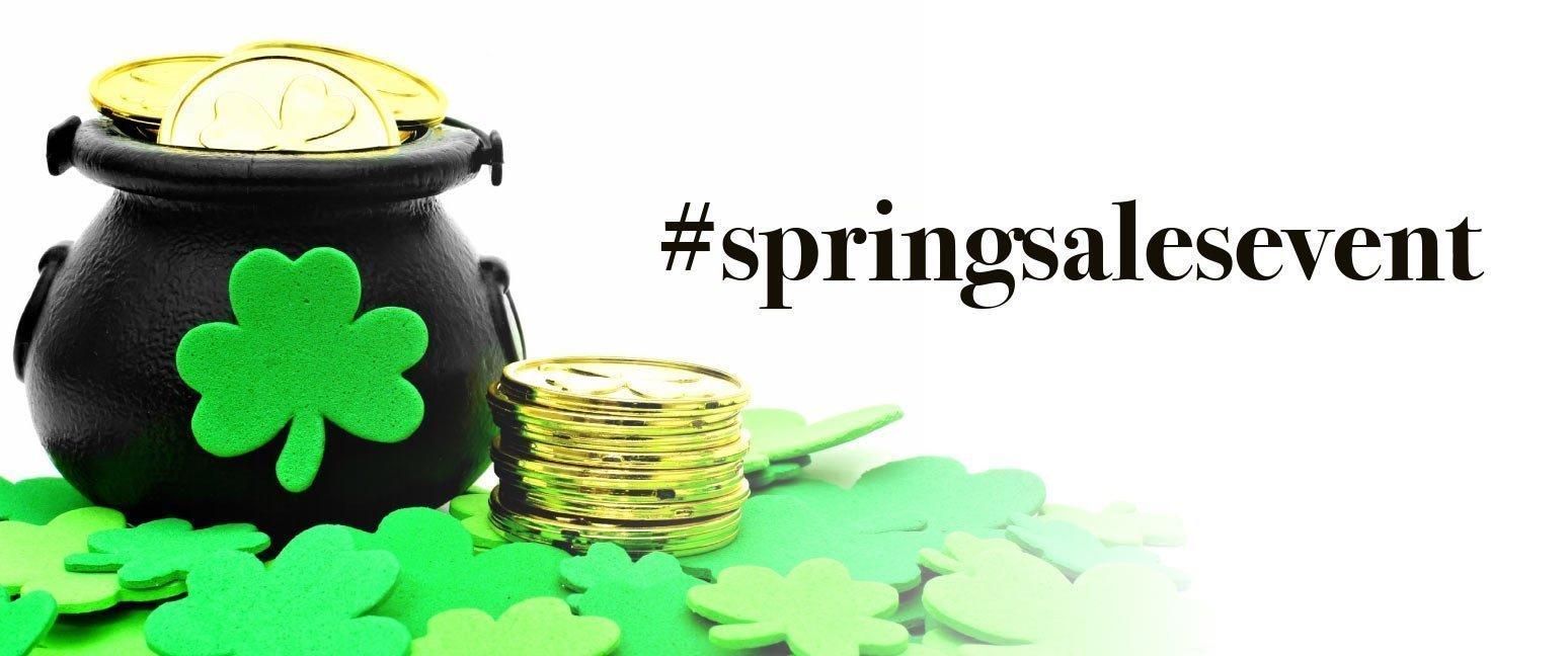 #springsalesevent