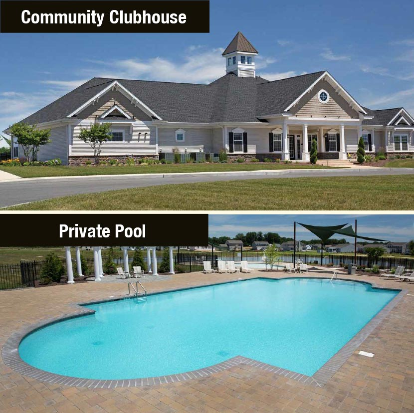 Pictures of Reserve at Chestnut Ridge clubhouse and pool