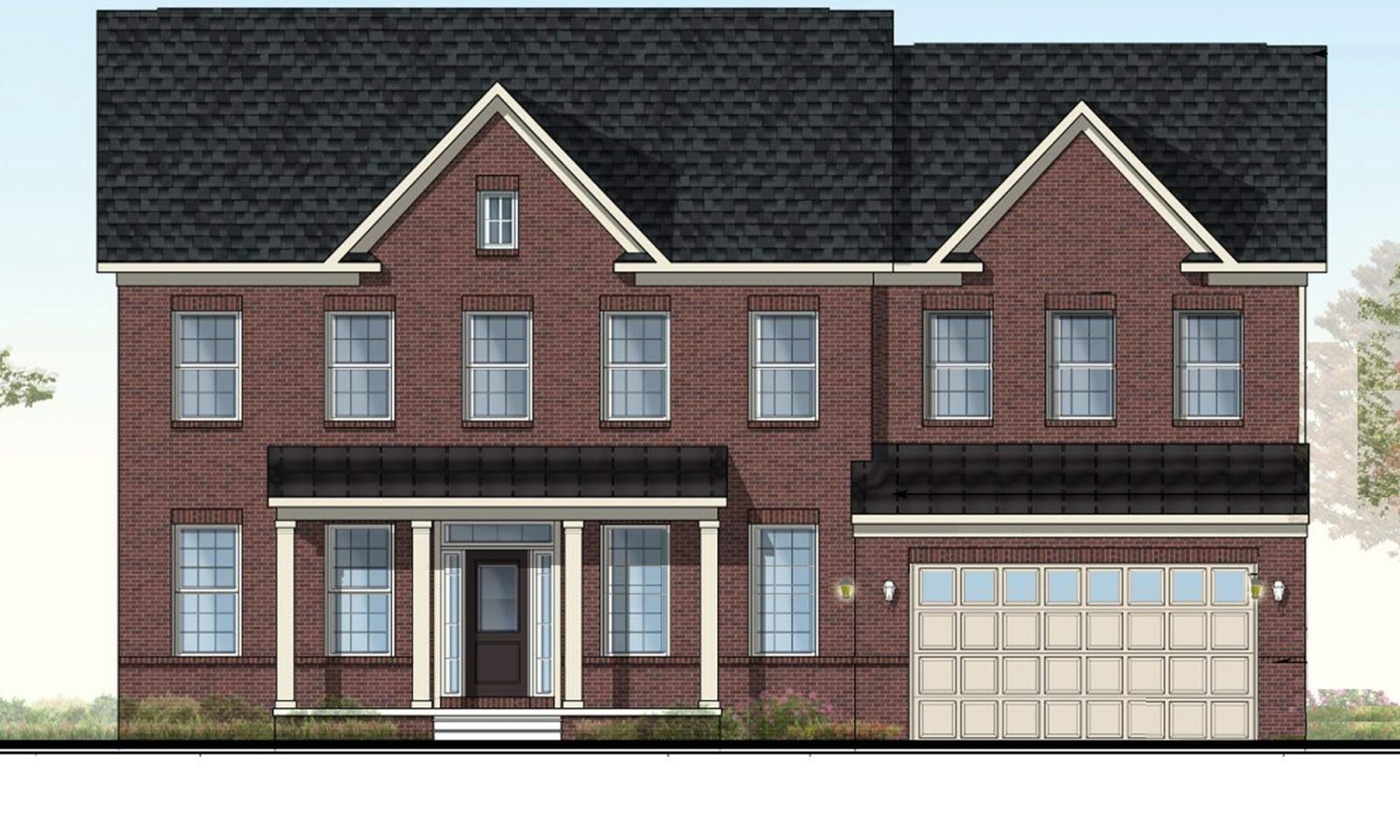 Red Oak Elevation 1